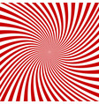 red and white spiral design background vector image vector image