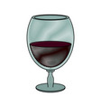wine bottle drink vector image vector image