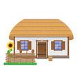 ancient farmhouse 02 vector image