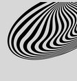 black white abstract striped background vector image