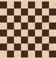 chessboard background empty chess board vector image