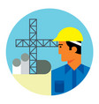 civil engineer vector image