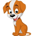 good dog vector image