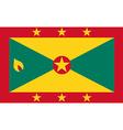 Grenada flag vector image vector image