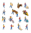 Logistics And Delivery Icons Set vector image vector image