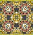 seamless ceramic tile design pattern background vector image vector image