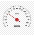 speedometer measuring scale speed test download vector image