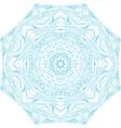 Circle ornament ornamental round lace vector image
