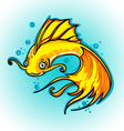 golden fish vector image vector image