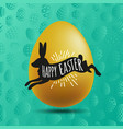 poster for happy easter 5 vector image vector image