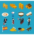 Spain Icons Set vector image vector image