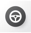 steering wheel icon symbol premium quality vector image