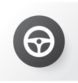 steering wheel icon symbol premium quality vector image vector image
