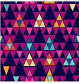 Trendy vintage hipster geometric seamless pattern vector image vector image