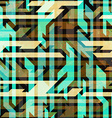 vintage urban seamless pattern vector image vector image