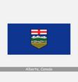 alberta canada flag canadian province banner