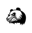 Angry Big Panda vector image