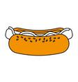 delicious fast food icon image vector image vector image
