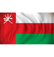 Flag of Oman vector image vector image