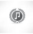 melody icon vector image vector image