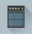 modern flat design concept icon kitchen stove vector image vector image