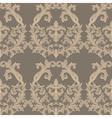 Baroque Vintage floral Damask pattern vector image vector image