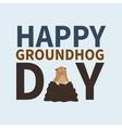 Happy groundhog daylogo iconcute happy Marmot