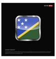 solomon islands flag design vector image vector image