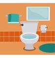 Bathroom icons design vector image vector image