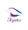 beauty eye elegance logo sign symbol icon vector image vector image