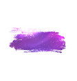 grunge banner with violet space vector image vector image