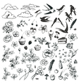 Lovely doodles vector | Price: 1 Credit (USD $1)