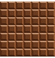 milk tile chocolate seamless background vector image vector image