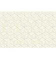 pattern geometric gold line seamless luxury vector image
