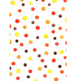 polka dot watercolor hand painting background vector image