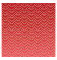 red oriental texture in mode vector image