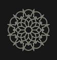 sacred geometry 0057 vector image