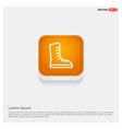 skating shoe icon vector image