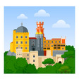 the pena palace vector image