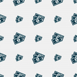 Us dollar icon sign Seamless pattern with vector image vector image