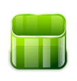 app glass container icon vector image vector image