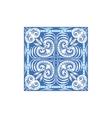 Azulejo Tile Portuguese Famous Symbol vector image vector image