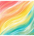 color brushstroke oil or acrylic paint design vector image vector image