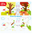 educational game for kids to develop color vector image