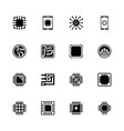 electronics - flat icons vector image vector image