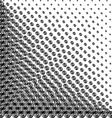 Halftone helix vector image vector image