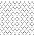 seamless metal grid fence pattern design vector image vector image
