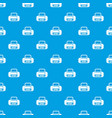 sports bag pattern seamless blue vector image vector image
