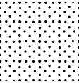 Unusual black and white small polka dot seamless vector image vector image