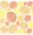 Shells seamless4 vector image